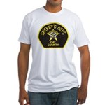Day County Sheriff Fitted T-Shirt