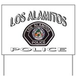 Los Alamitos Calif Police Yard Sign