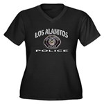 Los Alamitos Calif Police Women's Plus Size V-Neck