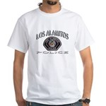 Los Alamitos Calif Police White T-Shirt
