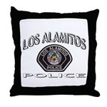 Los Alamitos Calif Police Throw Pillow