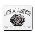 Los Alamitos Calif Police Mousepad