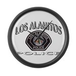 Los Alamitos Calif Police Large Wall Clock