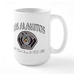 Los Alamitos Calif Police Large Mug