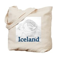 Iceland Puffin Tote Bag