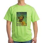 We'll Fly Em Pilot (Front) Green T-Shirt