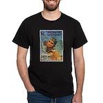 We'll Fly Em Pilot (Front) Black T-Shirt