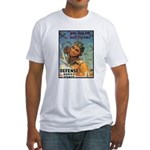 We'll Fly Em Pilot (Front) Fitted T-Shirt