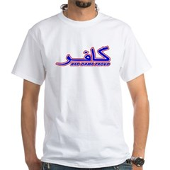 Proud Kafir (Infidel) White T-Shirt