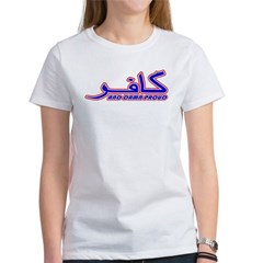 Proud Kafir (Infidel) Women's T-Shirt