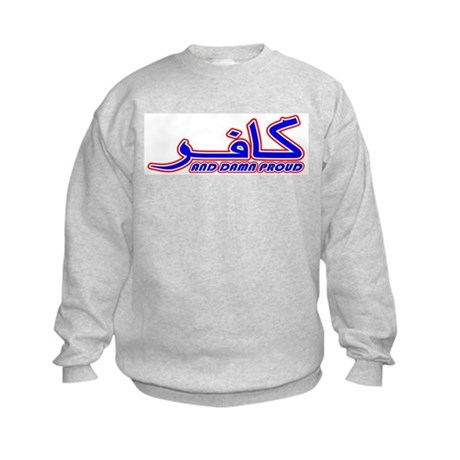 Proud Kafir (Infidel) Kids Sweatshirt