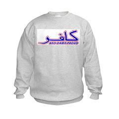 Proud Kafir (Infidel) Kids Sweatshirt