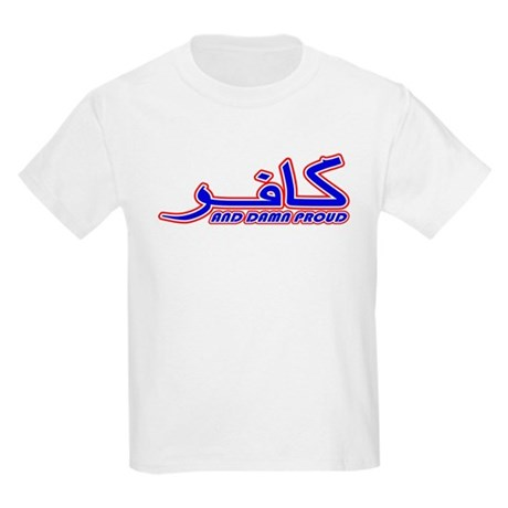 Proud Kafir (Infidel) Kids T-Shirt