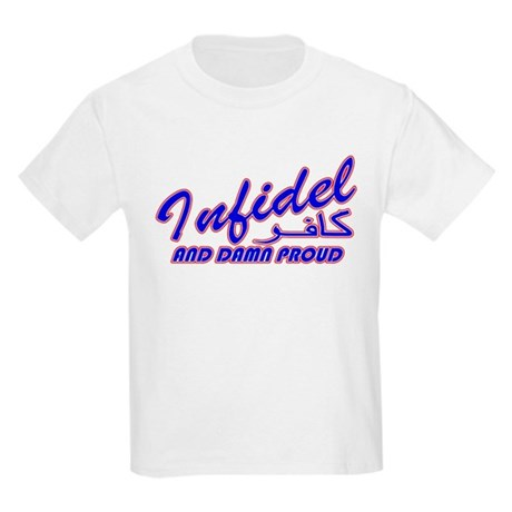 Proud Infidel (Kafir) Kids T-Shirt