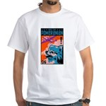 Obey the Pomeranian! White T-shirt