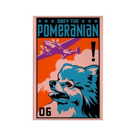 Obey the Pomeranian! Magnets (10 pack)