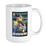 Sky's the Limit Poster Art Large Mug