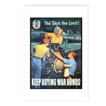 Sky's the Limit Poster Art Postcards (Package of 8