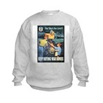 Sky's the Limit Poster Art Kids Sweatshirt