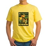 Sky's the Limit Poster Art Yellow T-Shirt