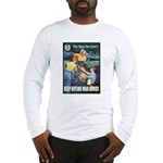 Sky's the Limit Poster Art Long Sleeve T-Shirt
