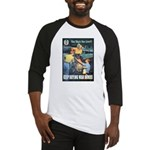 Sky's the Limit Poster Art Baseball Jersey
