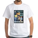 Sky's the Limit Poster Art White T-Shirt