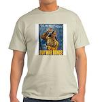 Till We Meet Again (Front) Ash Grey T-Shirt
