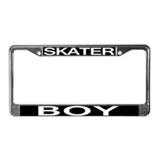 Skater Boy License Plate Frame