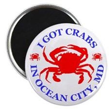 I got crabs in Ocean City Magnet