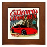 6th Annual California Coast R Framed Tile