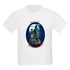 Haunted House_Happy Halloween T-Shirt