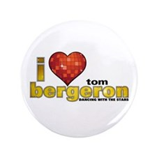 "I Heart Tom Bergeron 3.5"" Button"