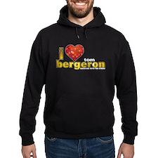 I Heart Tom Bergeron Hoodie (dark)