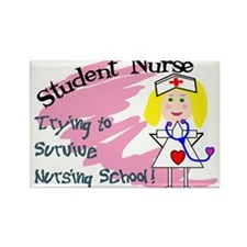 Nursing Student Rectangle Magnet