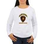 Redlands Mounted Police Women's Long Sleeve T-Shir