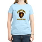 Redlands Mounted Police Women's Light T-Shirt