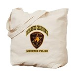 Redlands Mounted Police Tote Bag