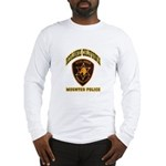Redlands Mounted Police Long Sleeve T-Shirt