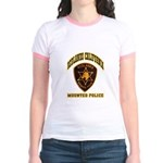 Redlands Mounted Police Jr. Ringer T-Shirt