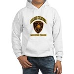 Redlands Mounted Police Hooded Sweatshirt