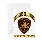 Redlands Mounted Police Greeting Cards (Pk of 10)