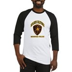 Redlands Mounted Police Baseball Jersey