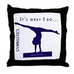 Gymnastics Throw Pillow - Do