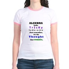 ALGEBRA looks TRICKY - THOUGHT that COUNTS T