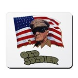 Old Soldier Mousepad
