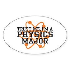 Physics Major Decal