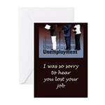 Unemployed Greeting Cards (Pk of 20)