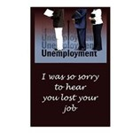 Unemployed Postcards (Package of 8)