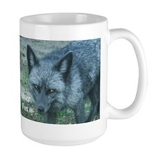 Silver Fox over 50 Coffee Mug